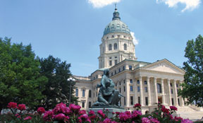 Photograph: Capitol building.