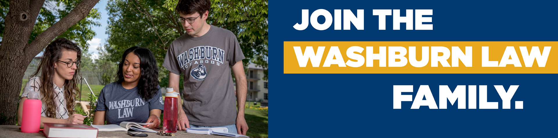 Join the Washburn Law family.