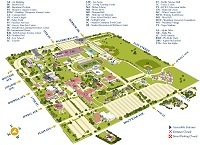Graphic: Thumbnail of Washburn University campus map.