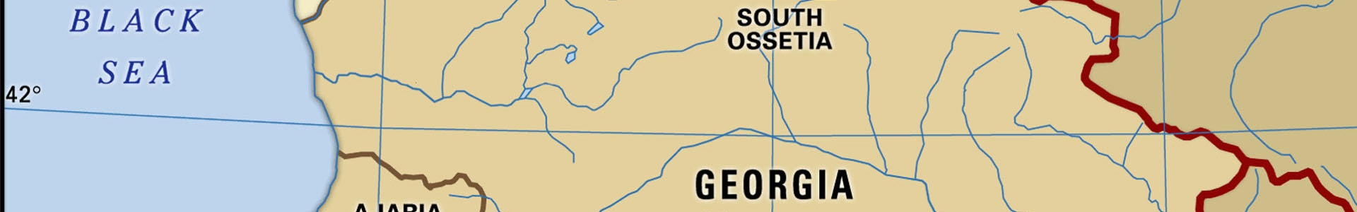 Map Of Republic Of Georgia.Republic Of Georgia