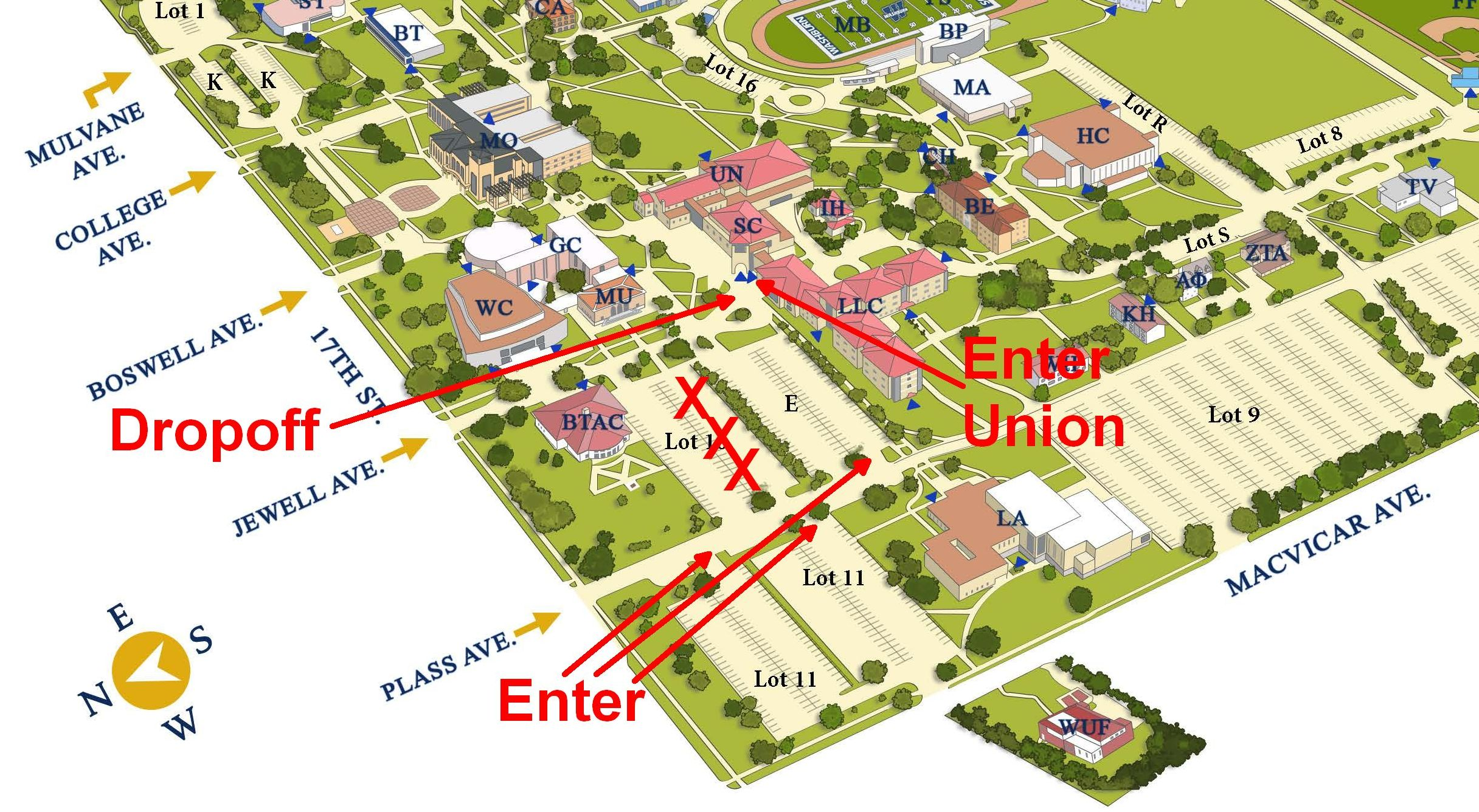 washburn university campus map Commemorating The 65th Anniversary Of Brown V Board Of Education washburn university campus map